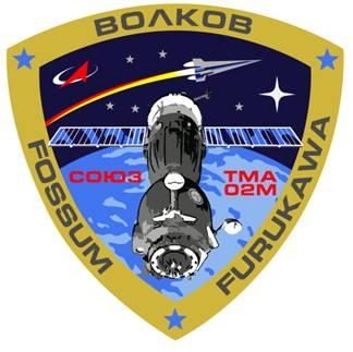 Эмблема экипажа российского пилотируемого корабля «Союз ТМА-02М»
