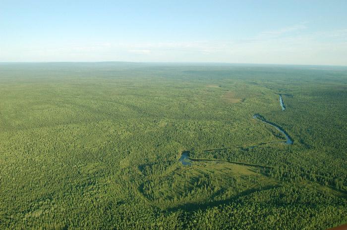 Река Сухая Бахта