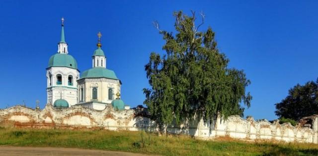 Спасо-Преображенский монастырь. Енисейск