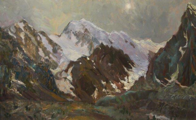 Большой ледник. 2009 г. Лидия Селезнева