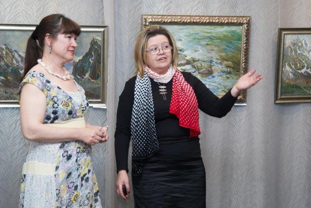Лидия Селезнева и Валентина Романова