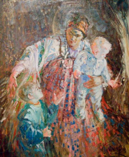Лучик. 2008 г. Лидия Селезнева