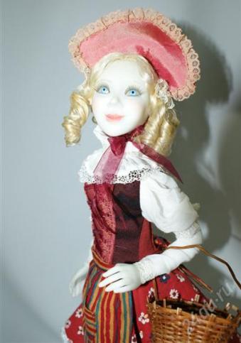 Кукла Красная шапочка. Автор Вера Баранова