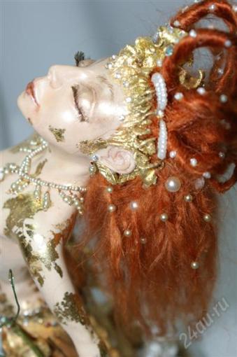 Кукла Золотая рыбка. Автор Олег Сипетый