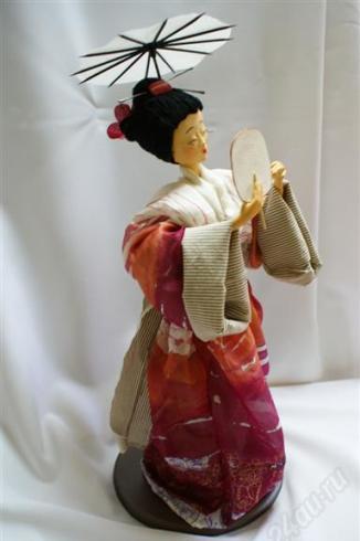 Кукла Гейша. Автор Елена Попенко