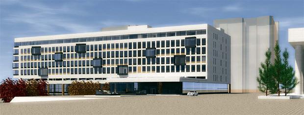 Нереальный проект 5* гостиницы в Красноярске
