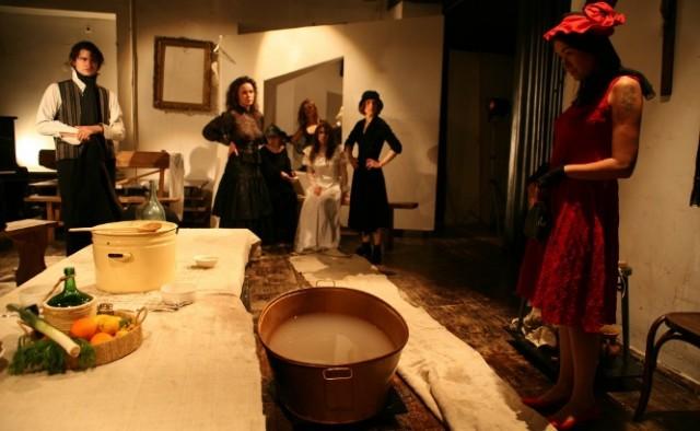 Почти спектакль, почти по Пиранделло, или танец смерти – реанимация