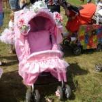 Чемпионат оригинальных колясок на «Зелёном». Розовая