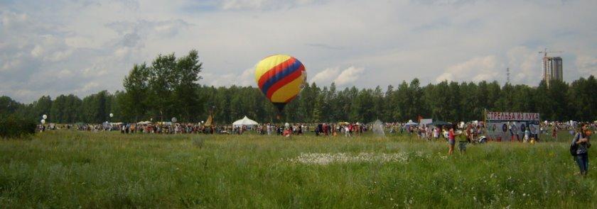 Фестиваль «Зеленый» в Красноярске