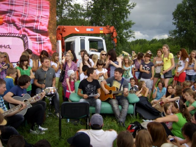 Фестиваль «Зеленый» в Красноярске. И песни, да