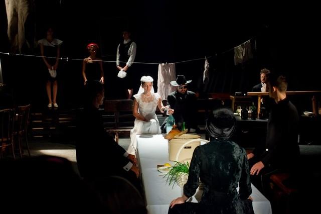 «Почти спектакль, Почти по Пиранделло, или Танец смерти — реанимация»