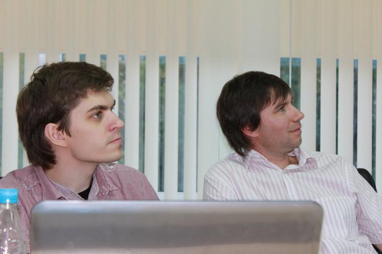 С очевидностью Илья Кабанов и Егор Задереев услышали что-то новое..
