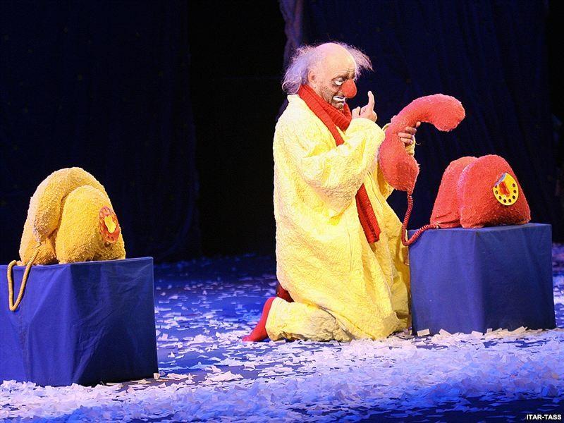 «Снежное шоу» Славы Полунина