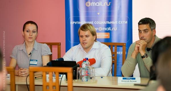 Mail.Ru Group: Евгения Марченко, Игорь Протасов, Алексей Катков