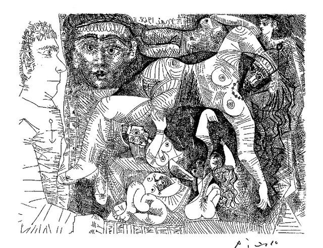 «Искушение. Пабло Пикассо»