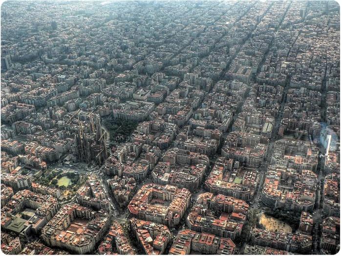 Центр Барселоны. Район Эшампле