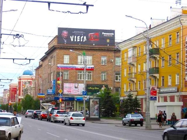 Кварталы исторического центра Красноярска