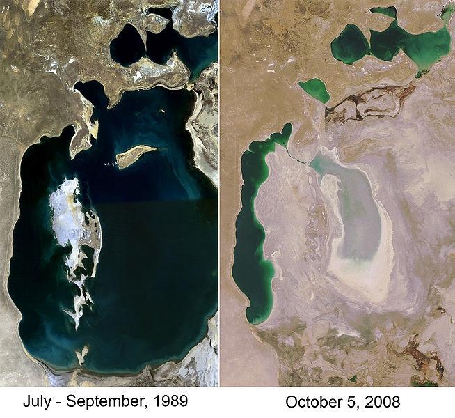 Аральское море – было и стало