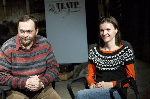 Михаил Угаров и Кристина Матвиенко