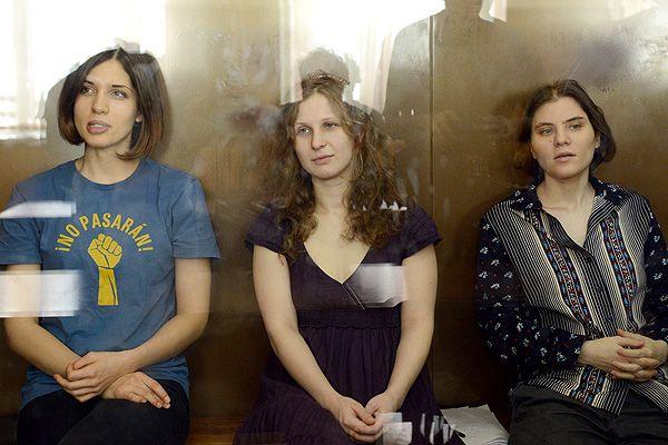 Приговор трем участницам панк-группы Pussy Riot. Фото ИТАР-ТАСС