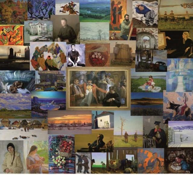 Юбилейная выставка живописи