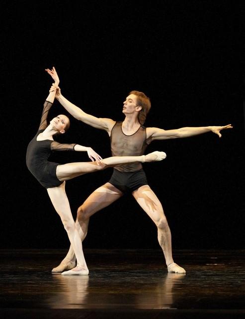 Юные участники балетного смотра-конкурса