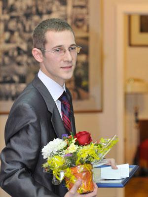 Евгений Эдин на церемонии вручения премии Астафьева