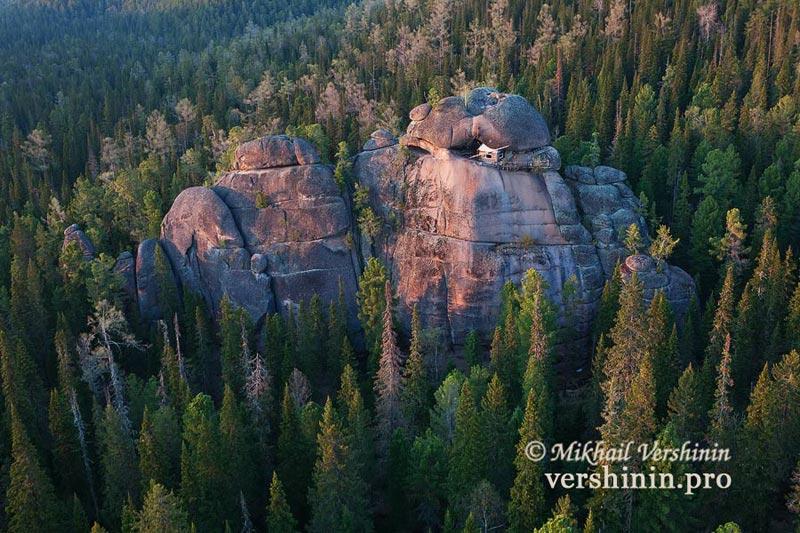 Фото из альбома Михаила Вершинина «Красноярские столбы»