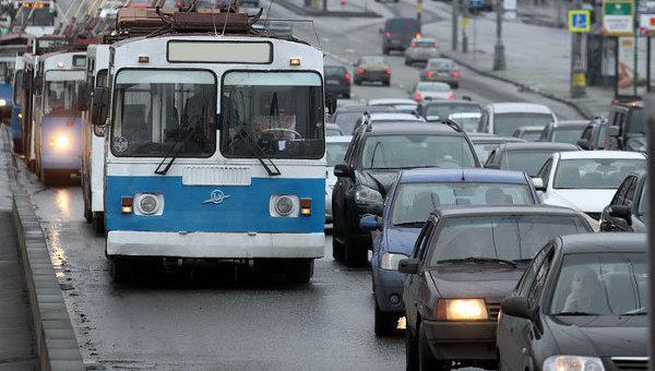 Уличный транспорт категории ROW-C