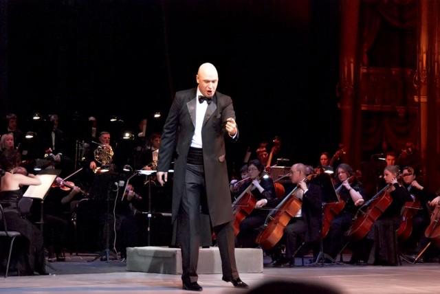 Георгий Дмитриев на «Параде звезд в оперном»