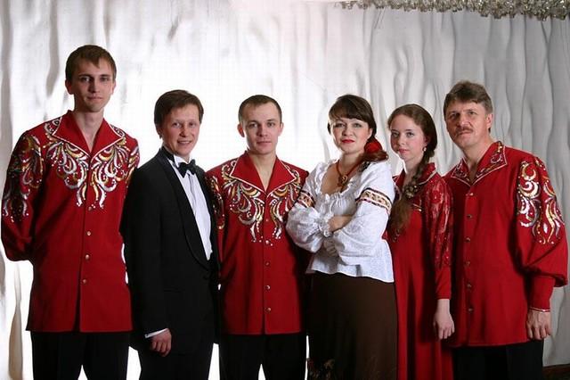 Ансамбль «Вольница» с солистами