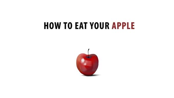 Как съесть яблоко