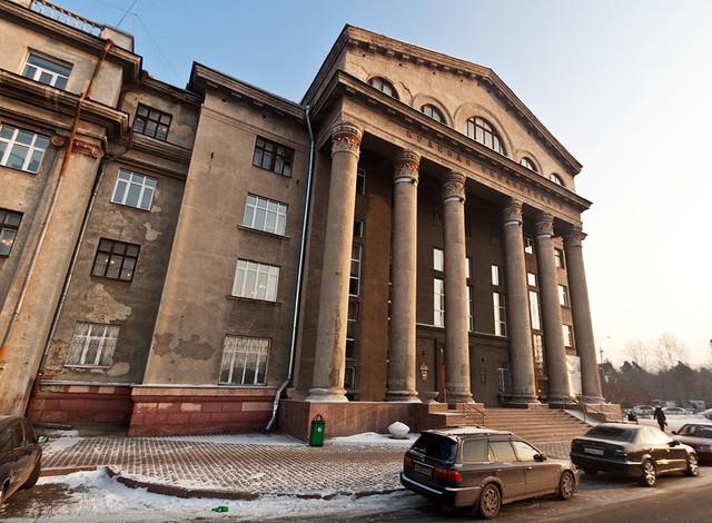 Краевая библиотека. Фото: feelek