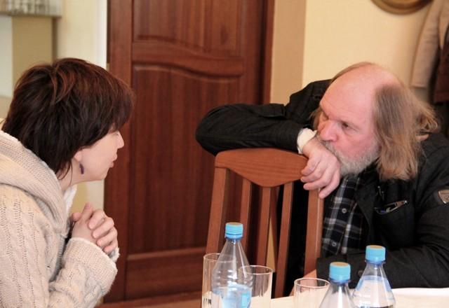 Екатерина Гороховская и Олег Лоевский