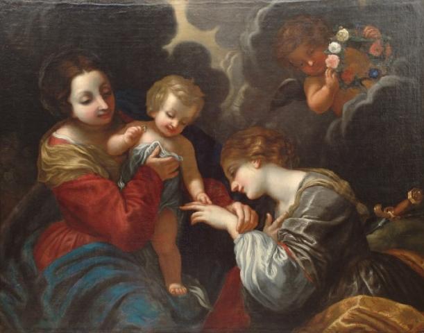 Вольтеррано. Обручение св. Екатерины Александрийской