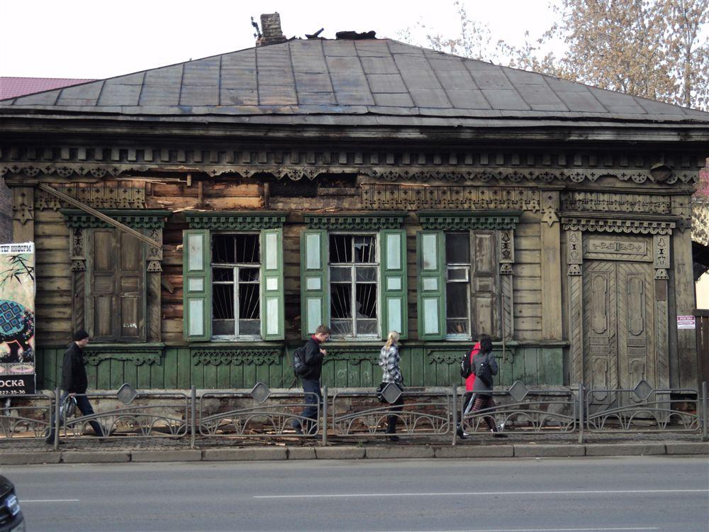 Сохранившиеся деревянные дома в центре Красноярска. Источник http://www.arhinovosti.ru/2012/04/05/zapiski-puteshestvennicy-krasnoyarsk/