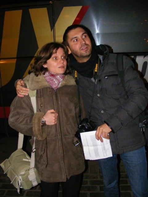 Наташа Розанова и Роман Феодори