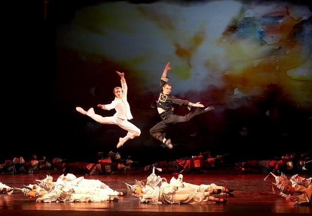 Ли Шань-Фу в балете «Красный мак»