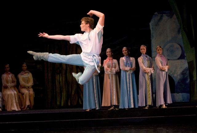 Данила в балете «Каменный цветок»