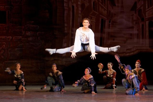 Меркуцио в балете «Ромео и Джульетта»
