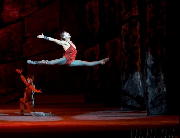 Спартак в балете «Спартак»