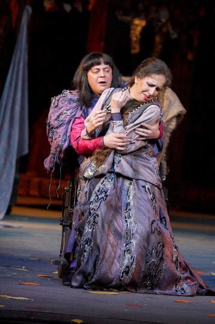 Любаша - в опере «Царская невеста»