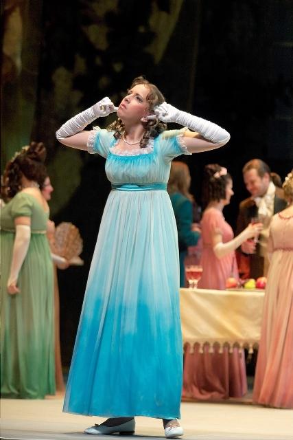 Ольга - в опере «Евгений Онегин»