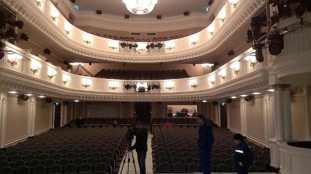 Большой зал театра - вид изнутри