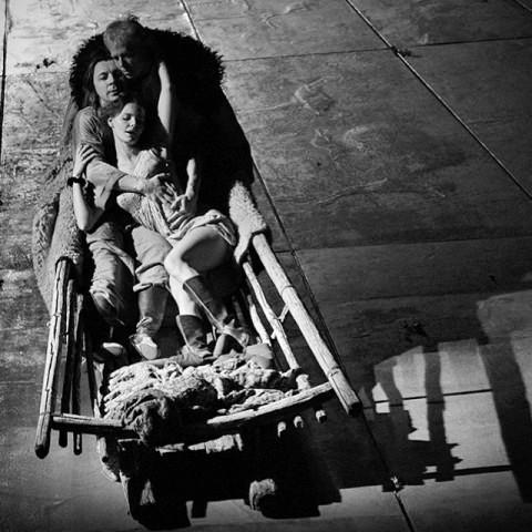 """Катерина Измайлова. """"Леди Макбет нашего уезда"""". МТЮЗ. Фото Елены Лапиной"""